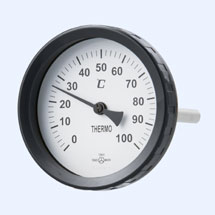 Bimetal thermometer - Angle type (T)