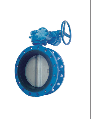 DOUBLE FLANGE BUTTERFLY VALVE ( CONCENTRIC TYPE)